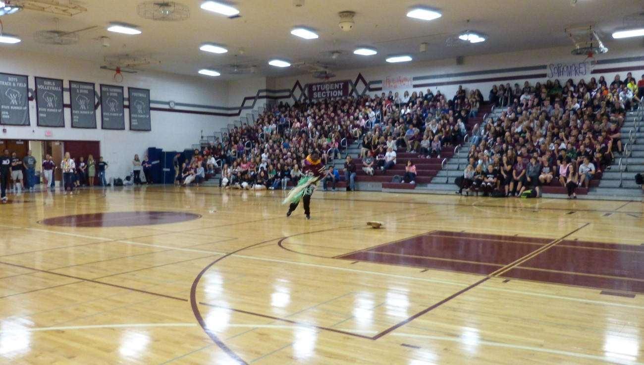 High School Sports Assembly